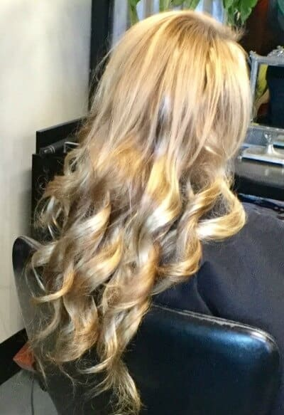 Blonde Long Extensions